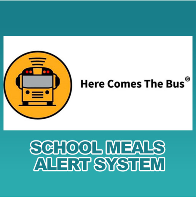 Here comes the bus meals alert system