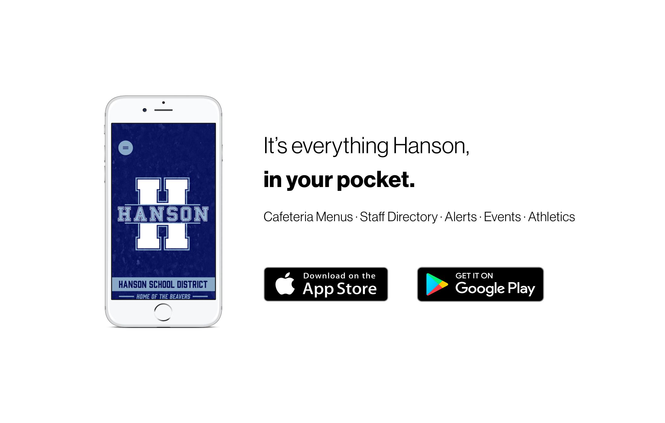Hanson App promotion