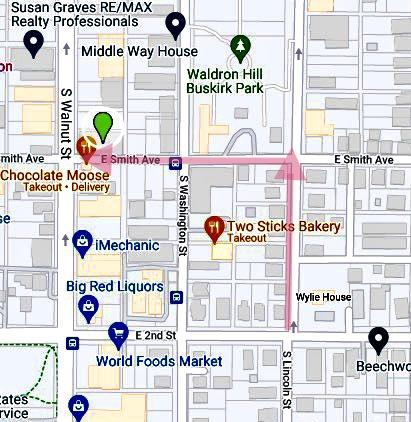 main building map