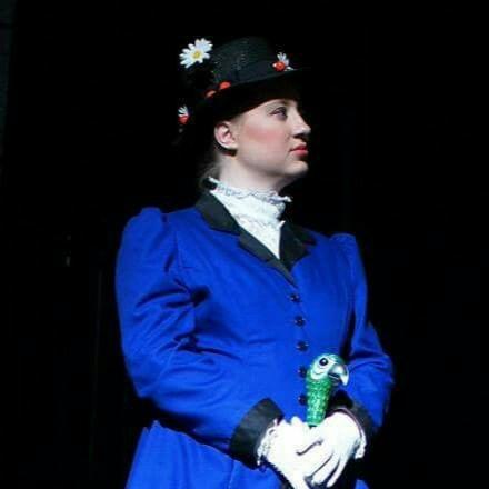 Megan Noll as Mary Poppins