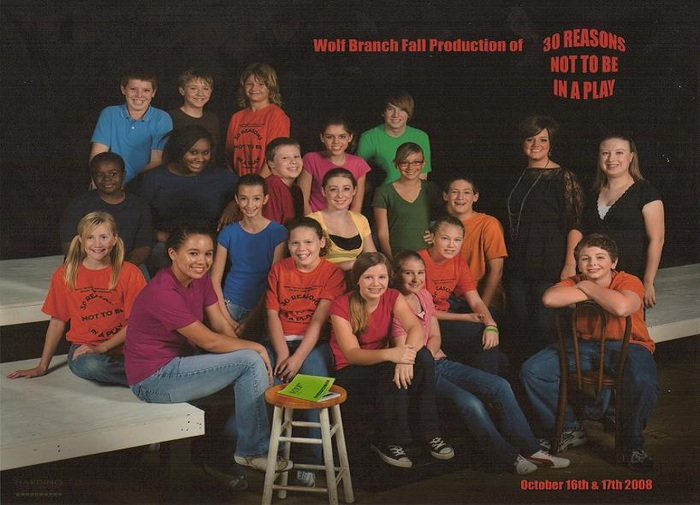 Cast and Crew of 30 Reasons Not to Be in a Play