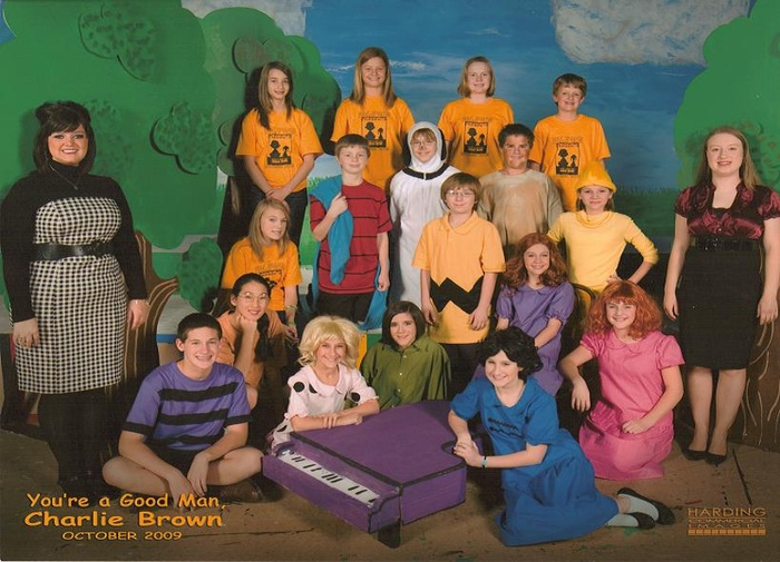 Cast and Crew of You're a Good Man, Charlie Brown