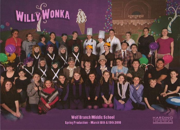 Cast and Crew of Roald Dahl's Willy Wonka