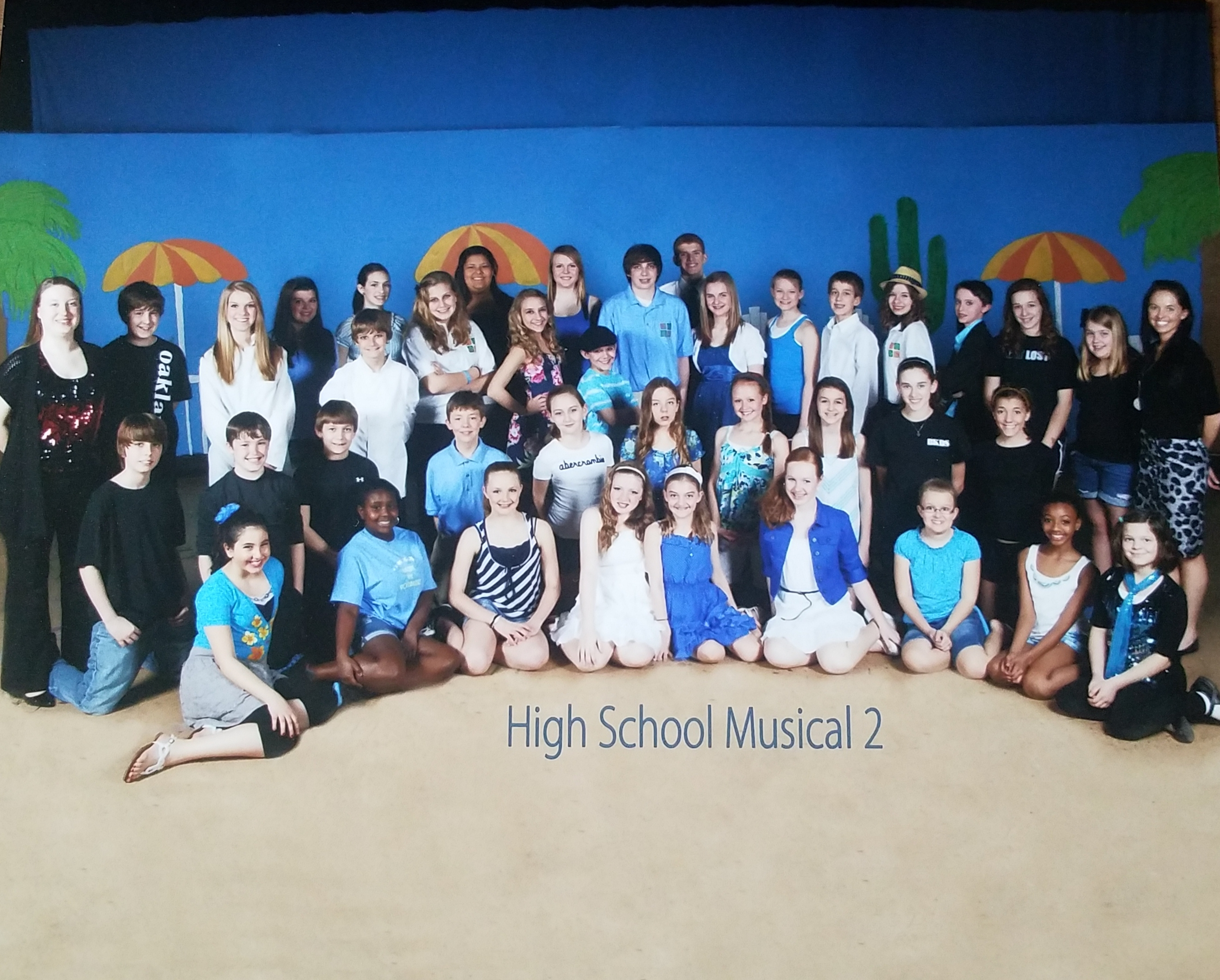 Cast and Crew of Disney's High School Musical 2