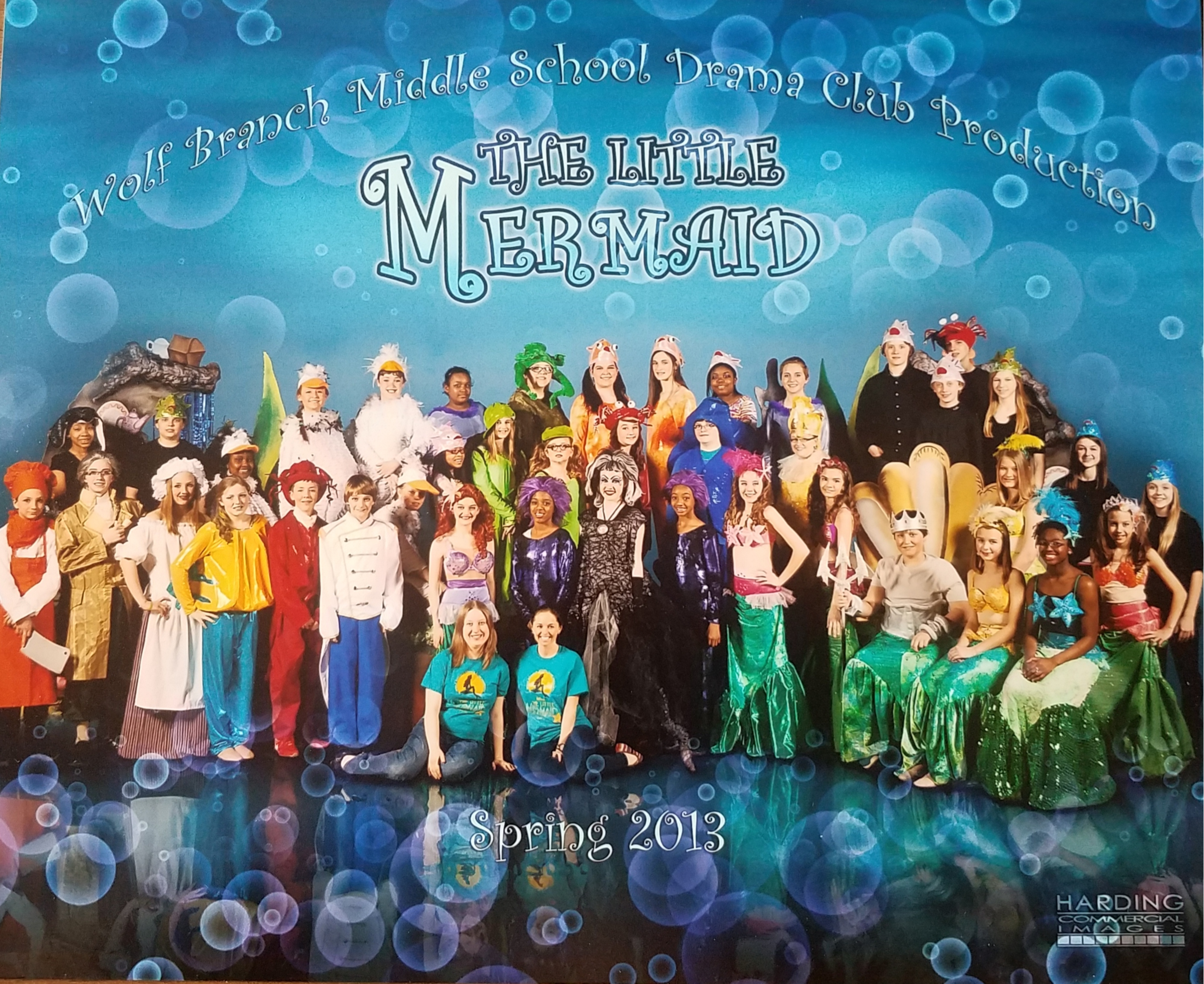 Cast and Crew of Disney's The Little Mermaid