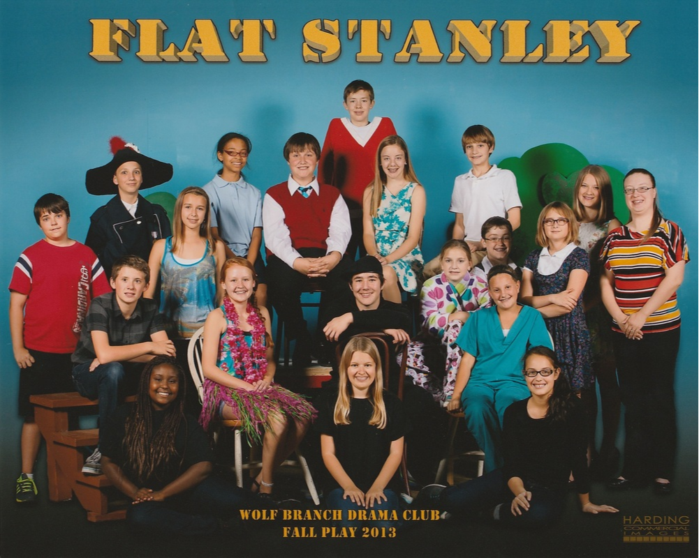 Cast and Crew of The Musical Adventures of Flat Stanley