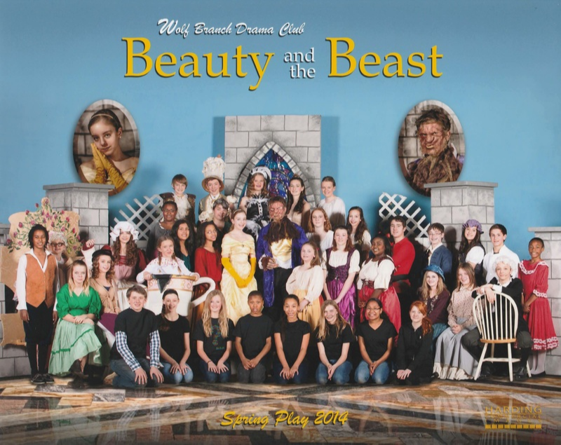 Cast and Crew of Disney's Beauty and the Beast