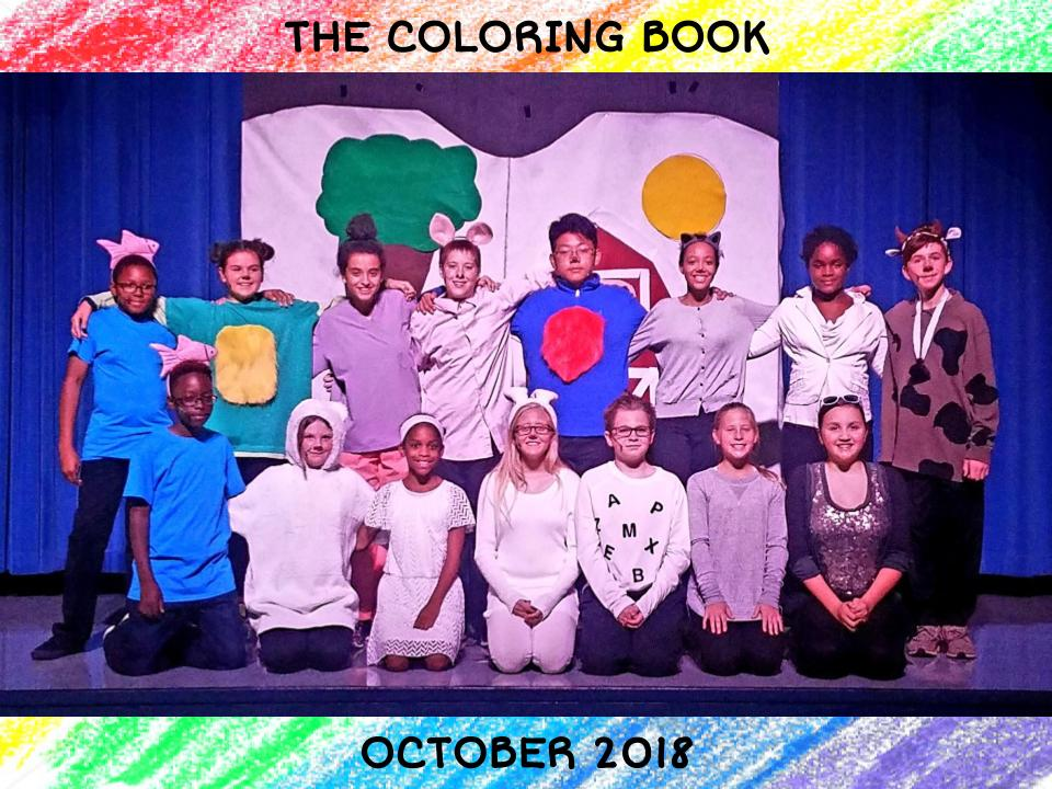 Cast and Crew of The Coloring Book