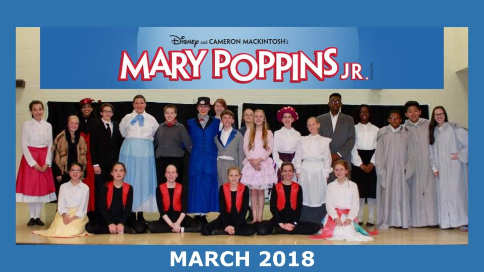 Cast and Crew of Disney's Mary Poppins