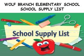 Elementary School Supply Logo