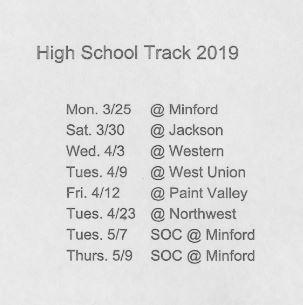 2019 HS Track