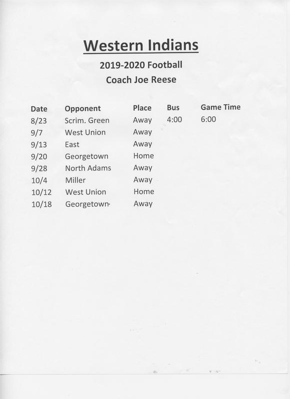 2019 High School Football