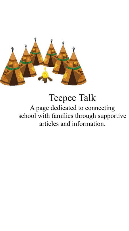 Teepee Talk
