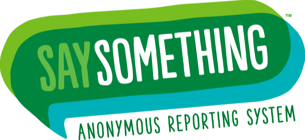 say something logo