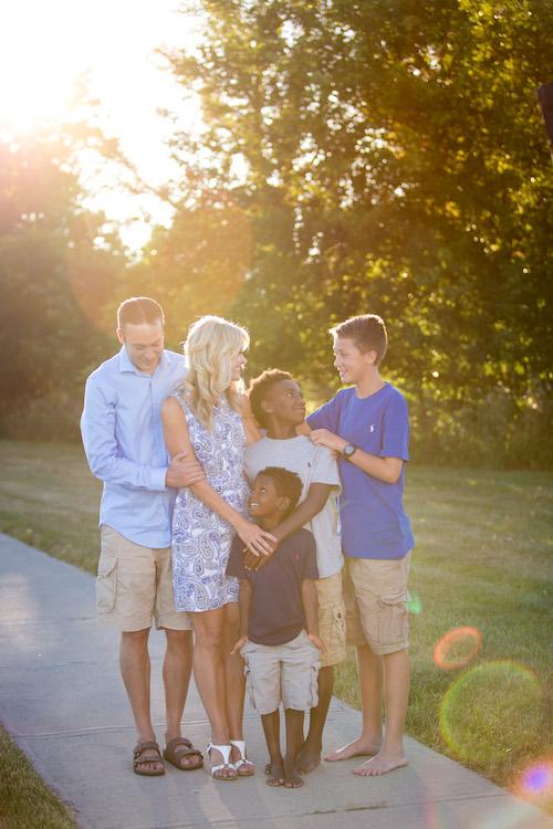 Superintendent's Family
