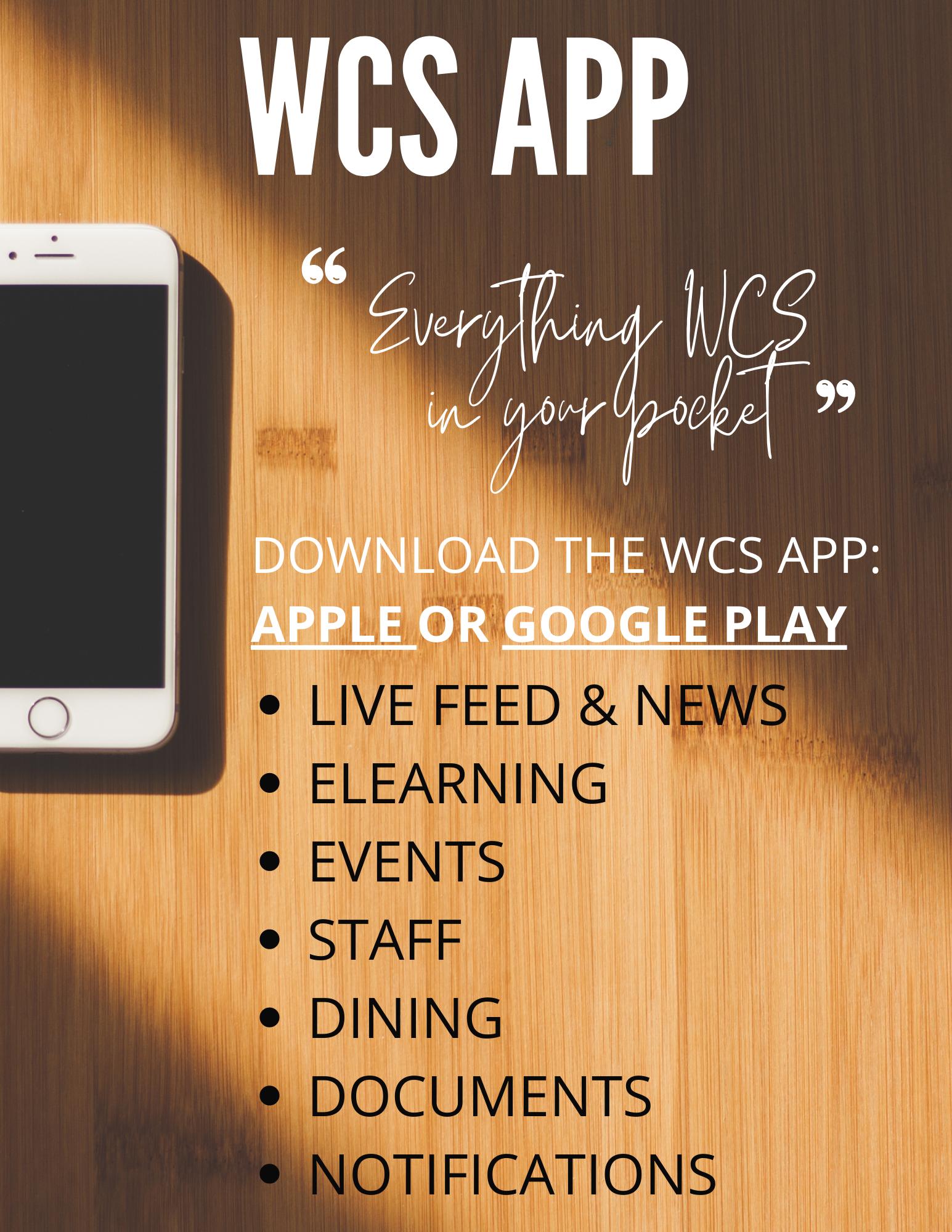 WCS App