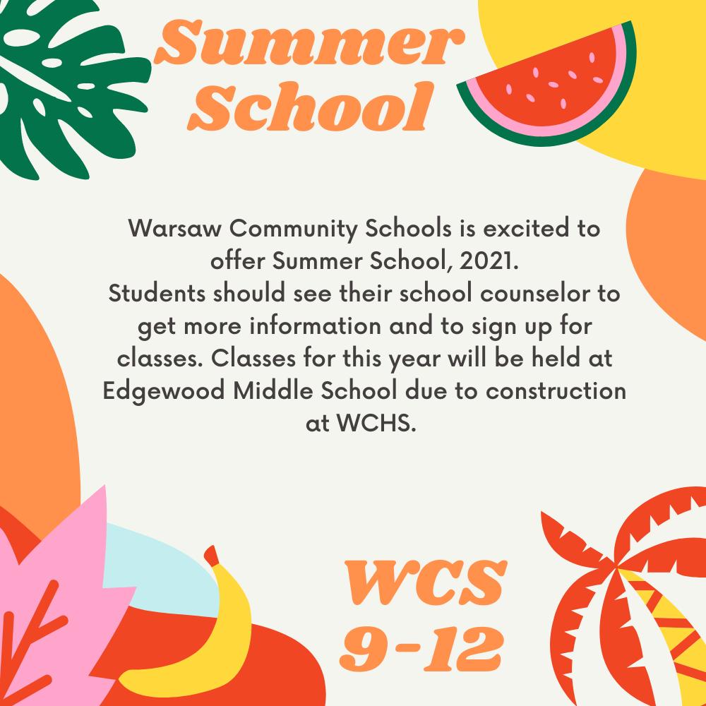 Summer School poster 9-12