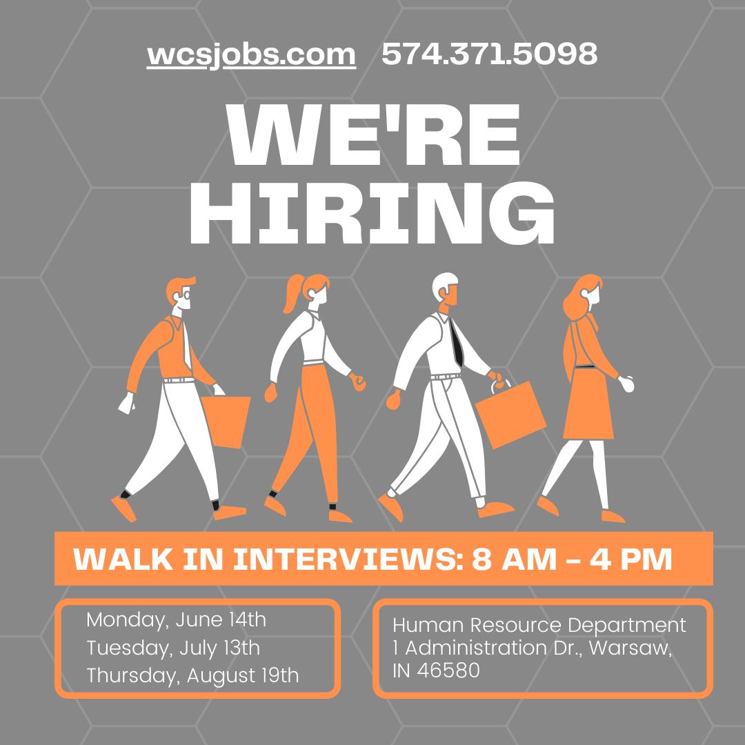 we re hiring poster