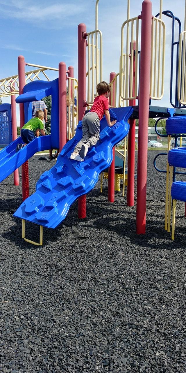 Students in preschools