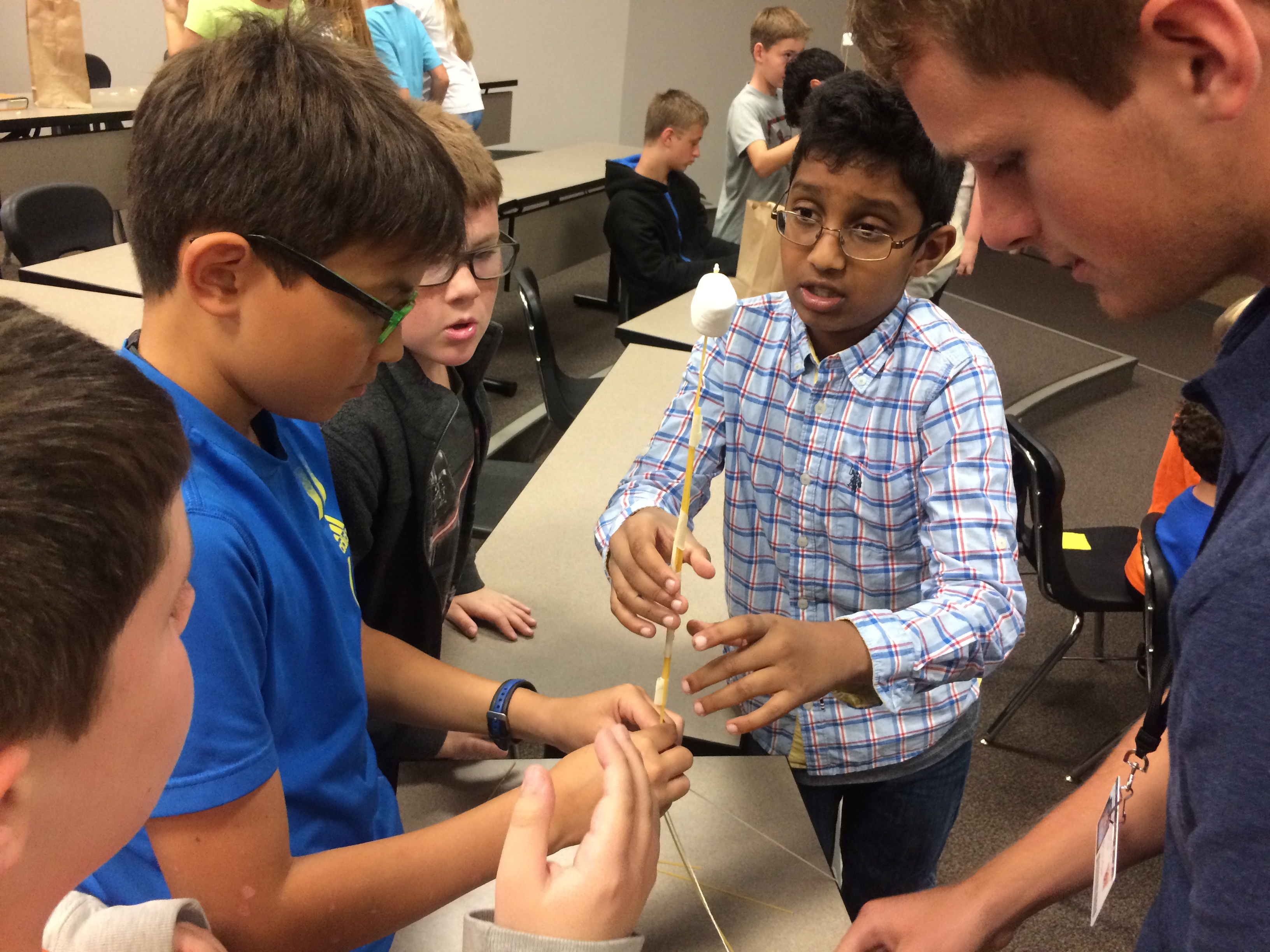 STEM Washington Academy, students doing various activities indoors and outdoors