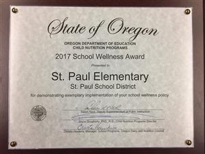 Elementary Wellness Award