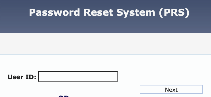 Password Reset System for LDOE