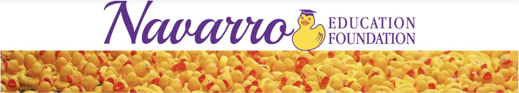 Navarro Education Foundation Header Bar