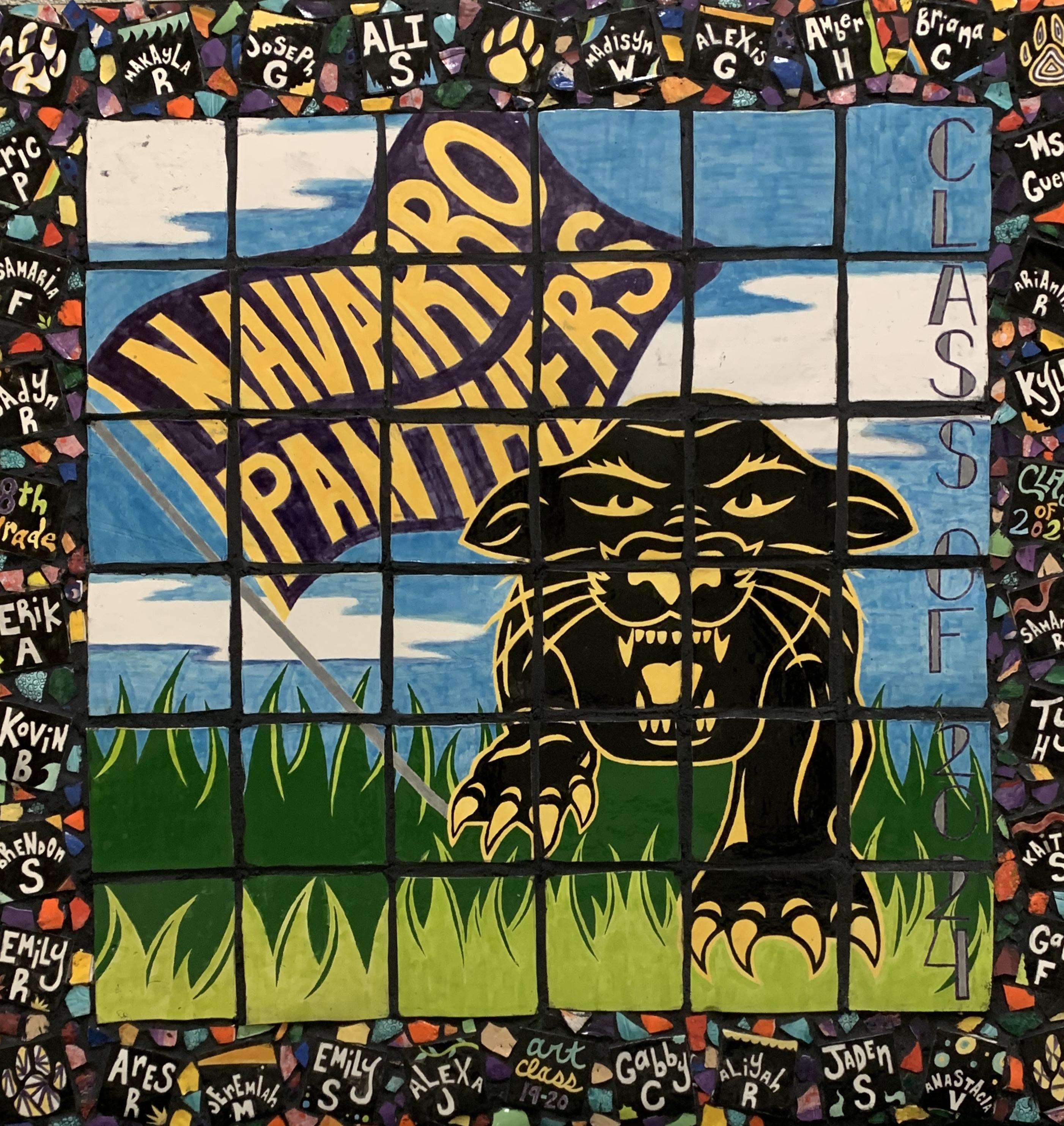 Panther Mural 2020