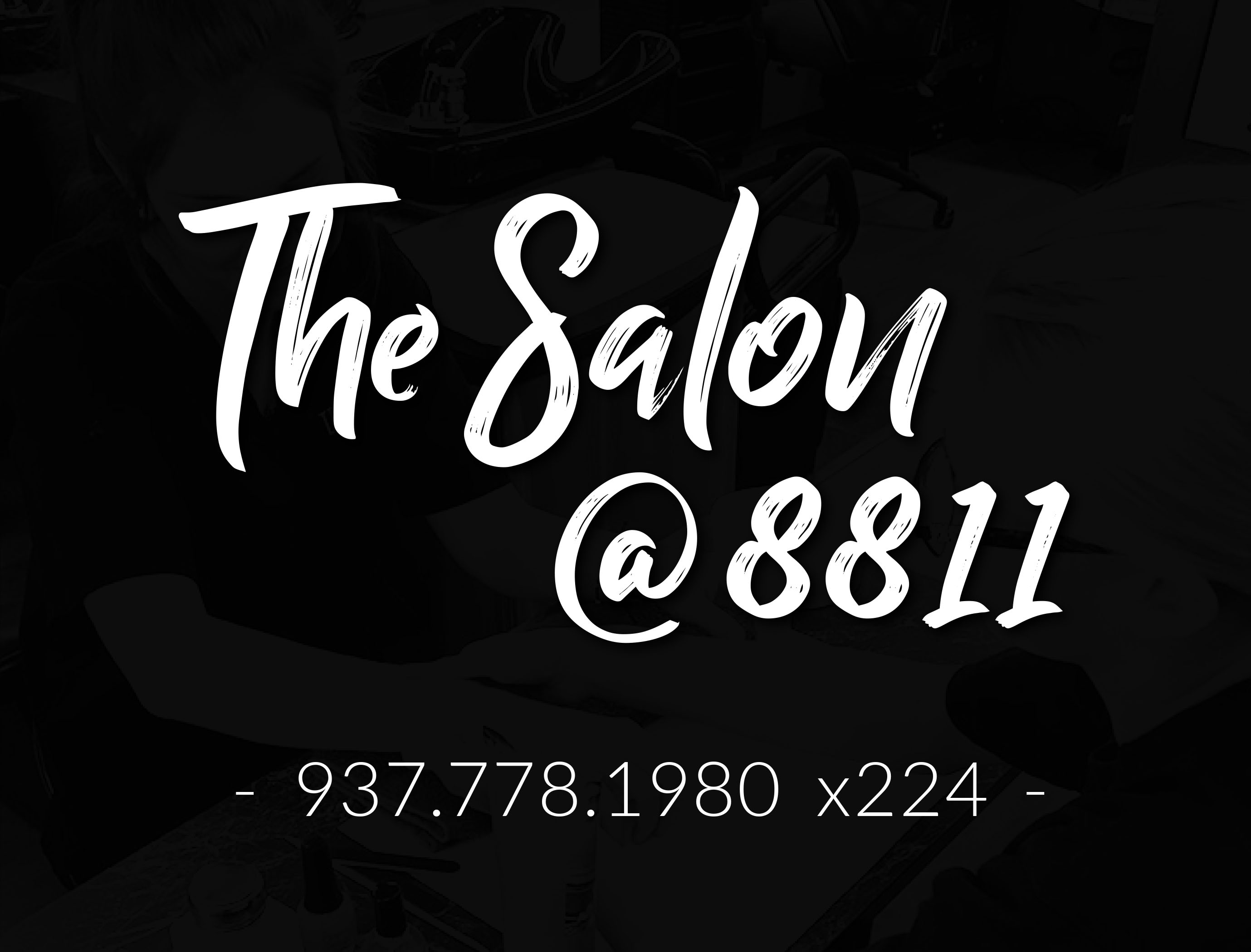 The Salon@8811 Logo