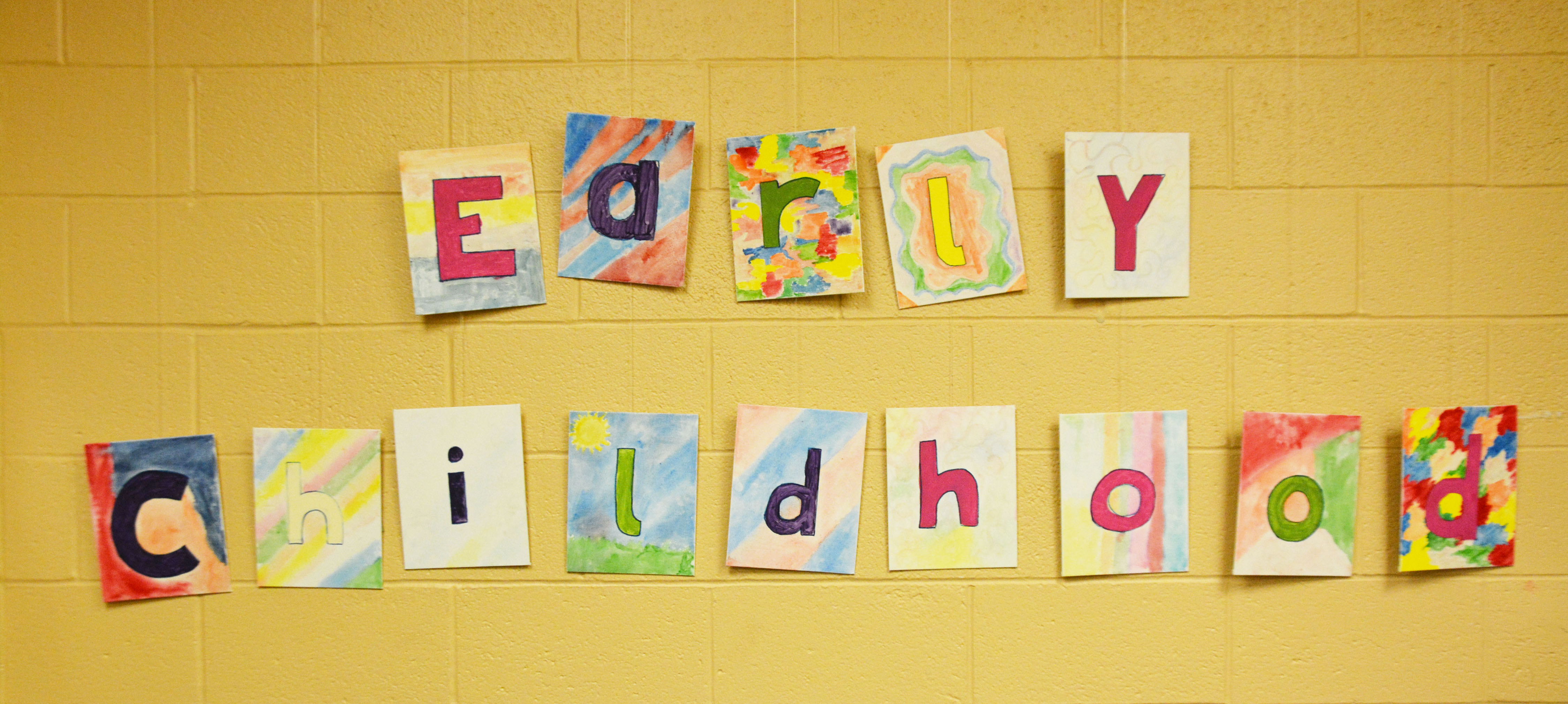 Early Childhood Education and Care Sign