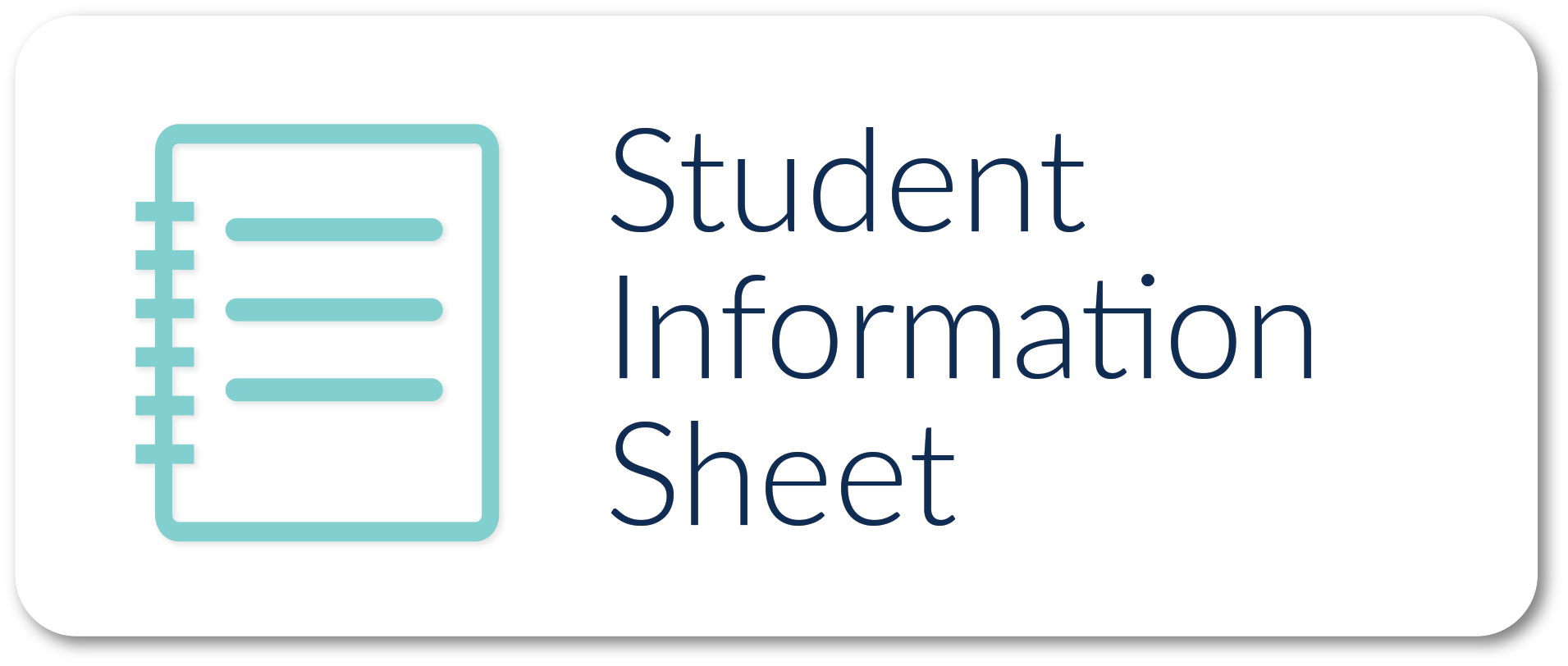 student info
