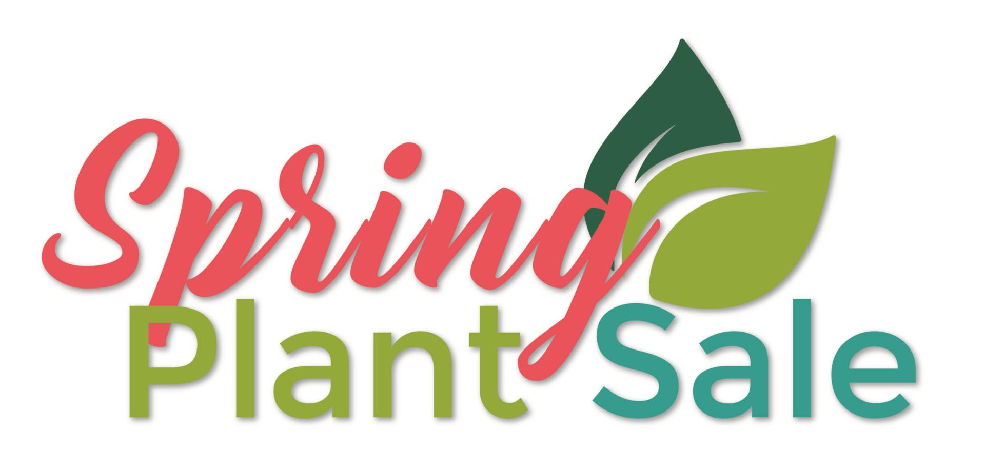 Spring Plant Sale logo