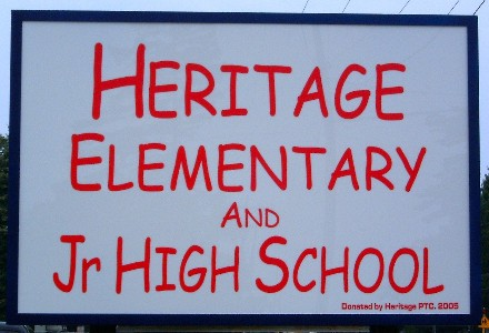 heritage elementary and jr high school