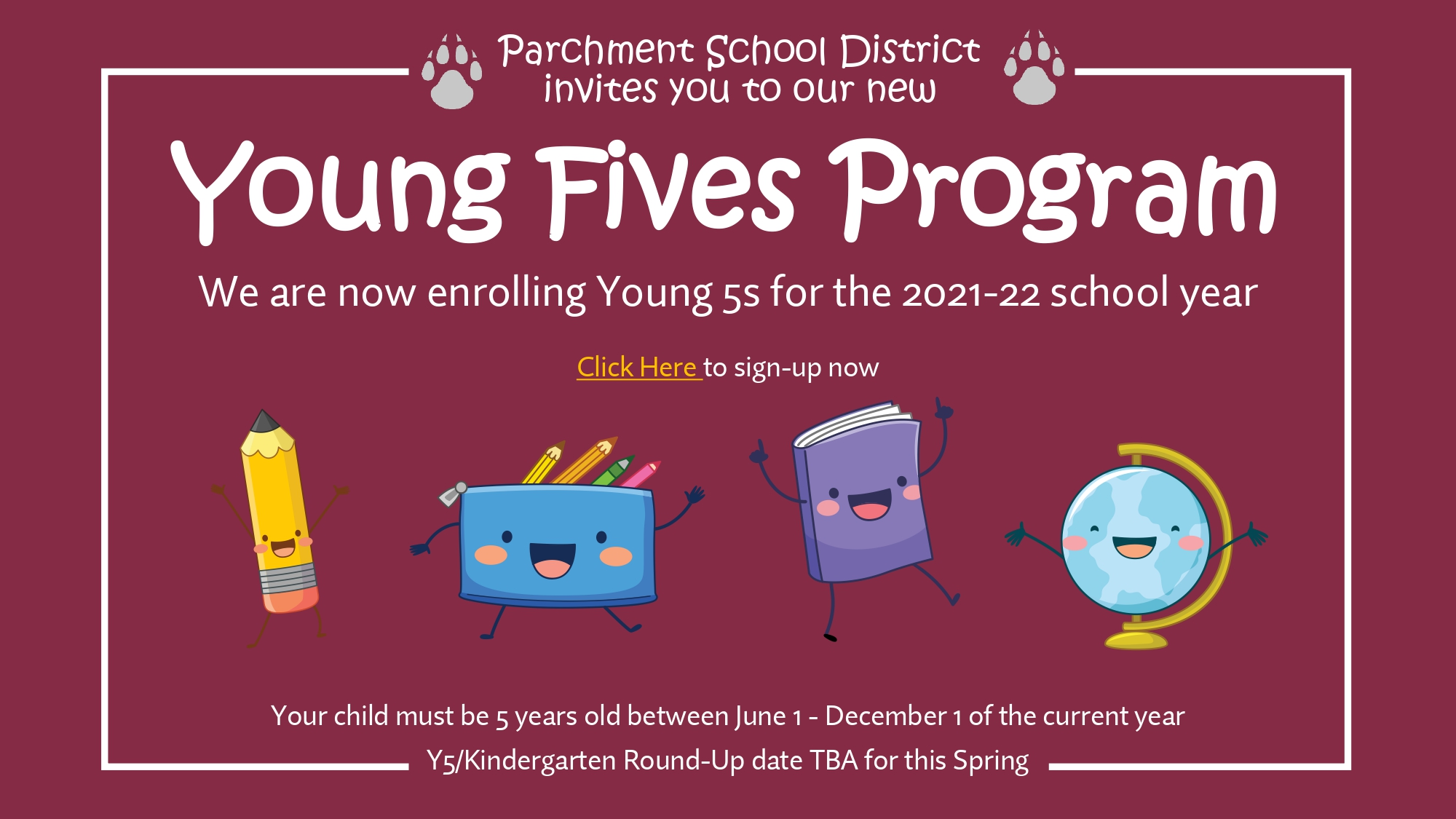 Parchment now offers Young 5s