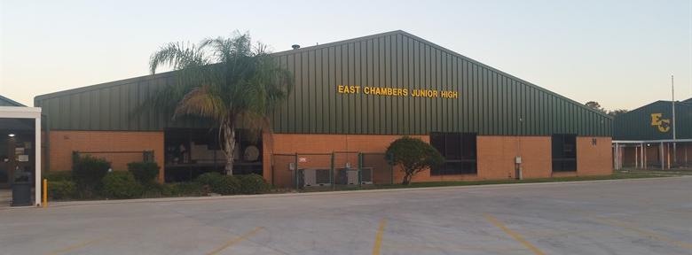 East Chambers Jr. High building