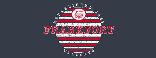 Frankfort Wildcats established 1869 logo
