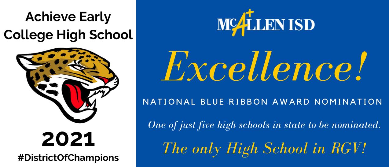 Blue Ribbon Nomination