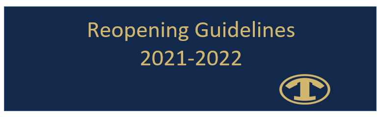 Reopening Guidelines header