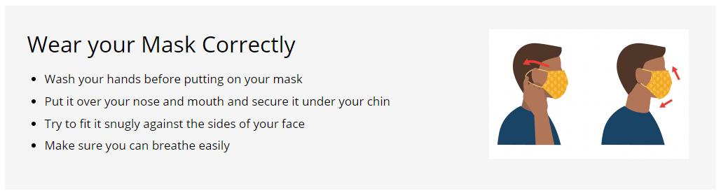 Face Mask info