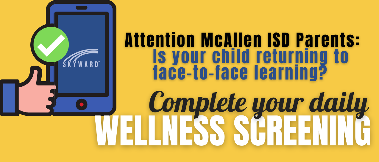 Please complete your daily wellness screening