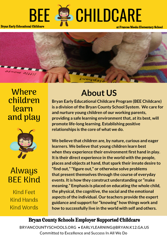 Bee Childcare page 1