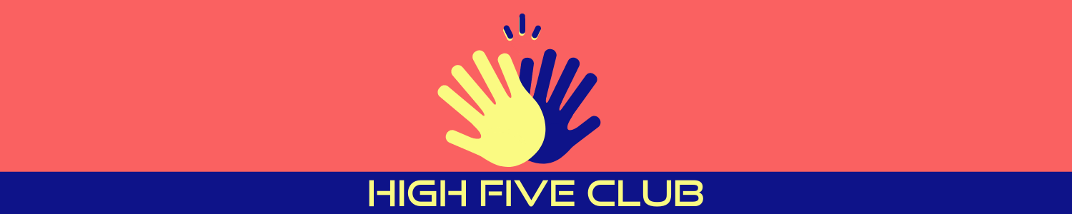 High Five Club with hands