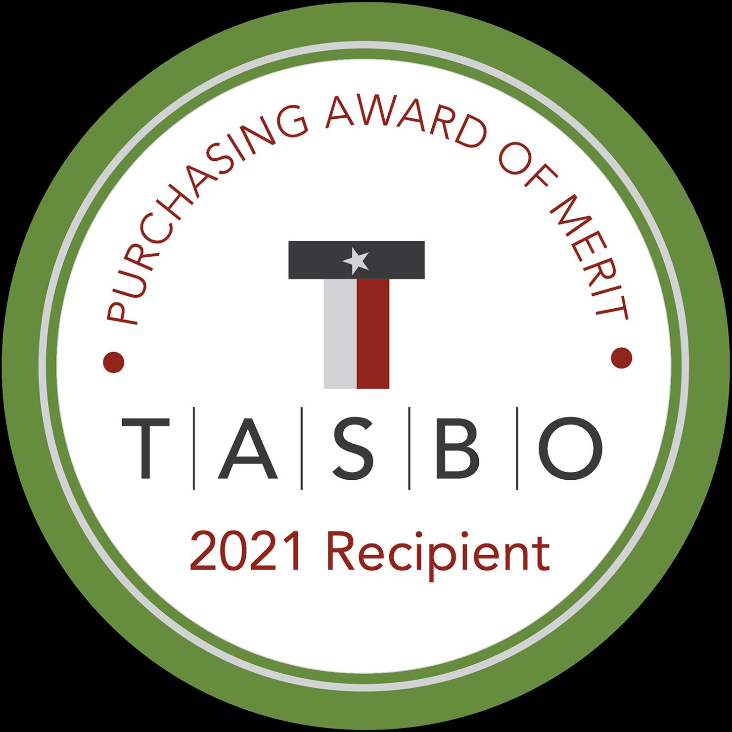 Purchasing Award of Merit 2020 Recipient