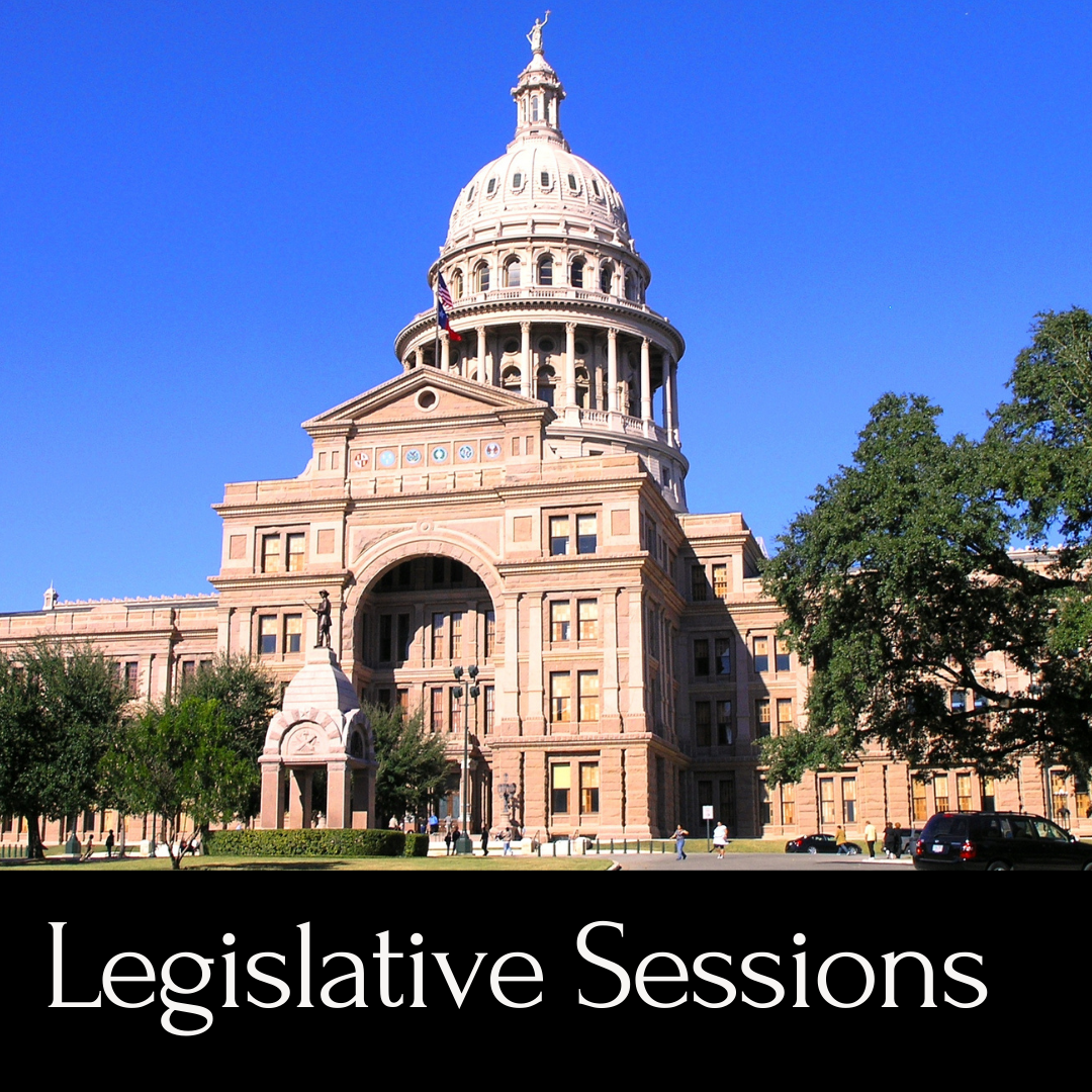Legislative Sessions - picture of capital building
