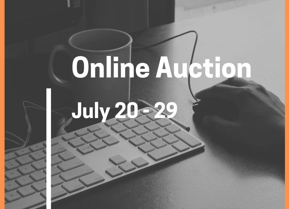 online auction. july 20-29
