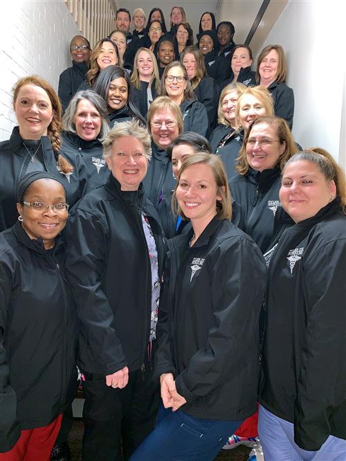 Nurses group picture