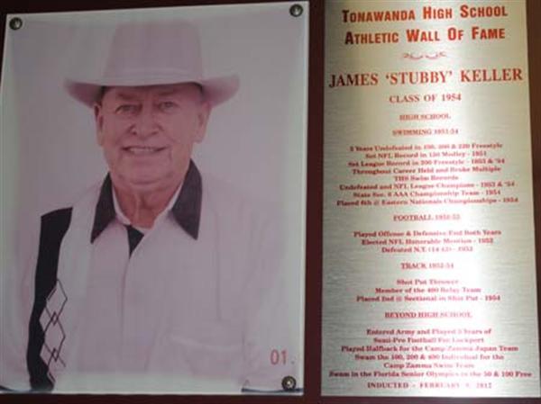 "Photo of James ""Stubby"" Keller, Class of 1954."