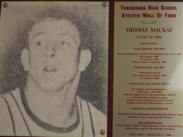 Photo of Thomas Mackay, Class of 1966.