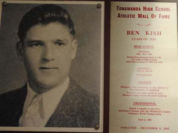 Photo of Ben Kish, Class of 1935.