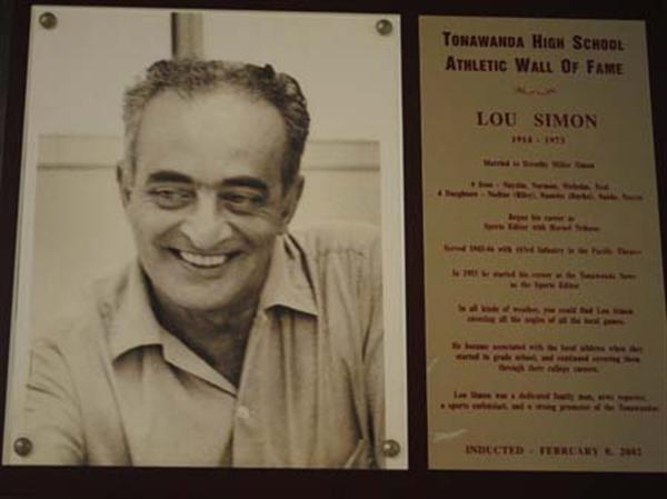 Photo of Lou Simon, 1914-1973.